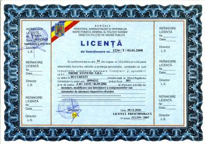 scan licenta - relicentiere